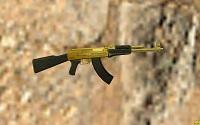Модель АК-47 «Золотой» для CS 1.6 - изображение 2