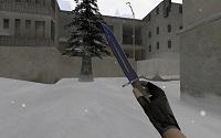 Модель «Штык-нож | Волны» для CS 1.6 - изображение 2