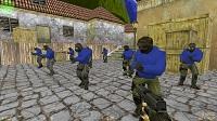 Пак красно-синих моделей игроков для CS 1.6 - изображение 2