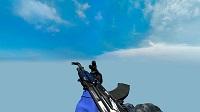 Модель AK-47 «Синий глянец» для CSS v34 - изображение 2
