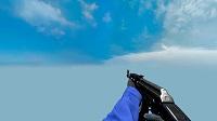 Модель AK-47 «Синий глянец» для CSS v34 - изображение 3