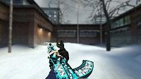 Модель AK-47 «Снежный вихрь» для CSS v34 - изображение 2