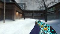 Модель AK-47 «Снежный вихрь» для CSS v34 - изображение 3