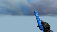 Модель Deagle «Blue Polygon» для CSS v34 - изображение 2
