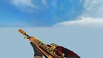 Модель M4A1 «Огонь Чантико» для CSS v34 - изображение 2
