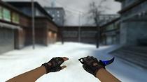 Модель ножа «Керамбит | Синий» для CSS v34 - изображение 3