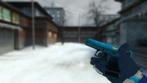 Пак синих моделей оружия для CSS v34 - изображение 2