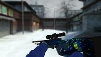 Пак синих моделей оружия для CSS v34 - изображение 4