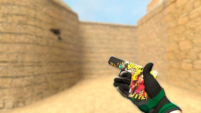 Модель Glock «Bullet Queen» для CSS v34