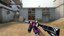 Пак розовых моделей оружия для CSS v34 - изображение 3