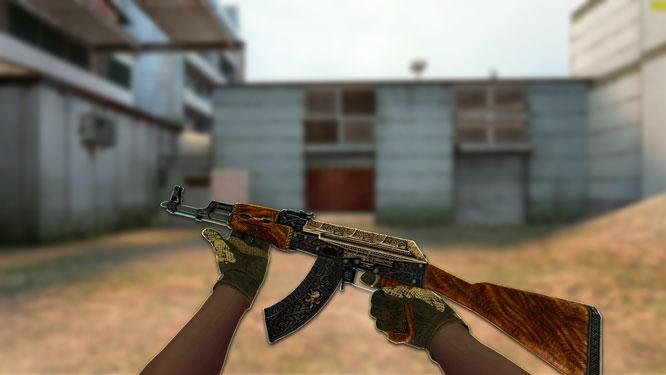 Модель AK-47 «Pride» для CSS v34