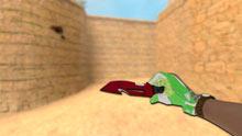 Модель ножа «Выживание | Рубин» для CSS v34 - изображение 2